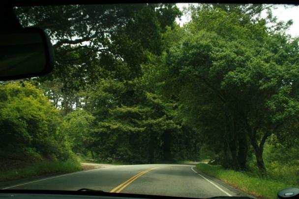 A entrada da 17 mile drive