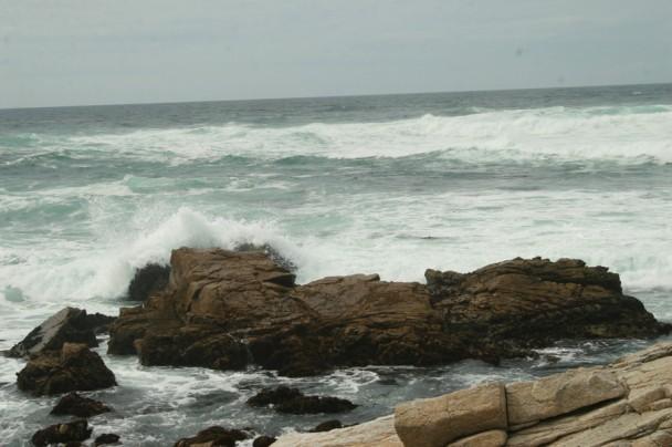 Pedras onde os marinheiros bateram