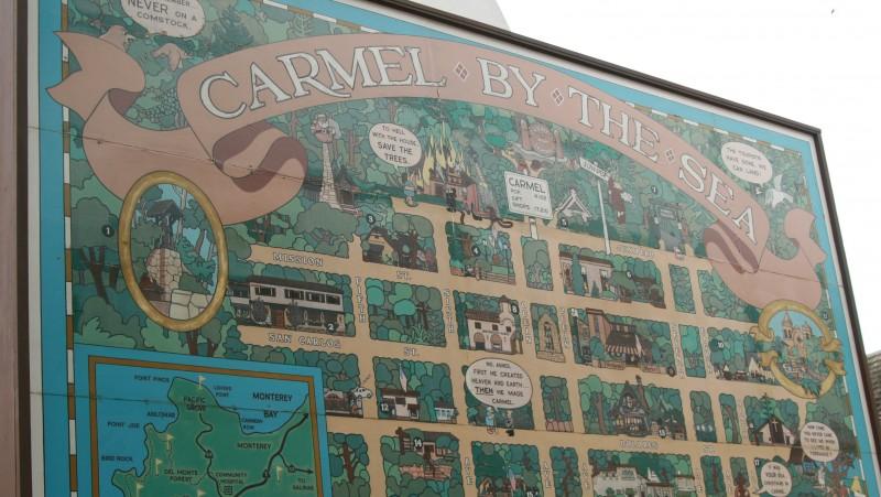 mapa carmel