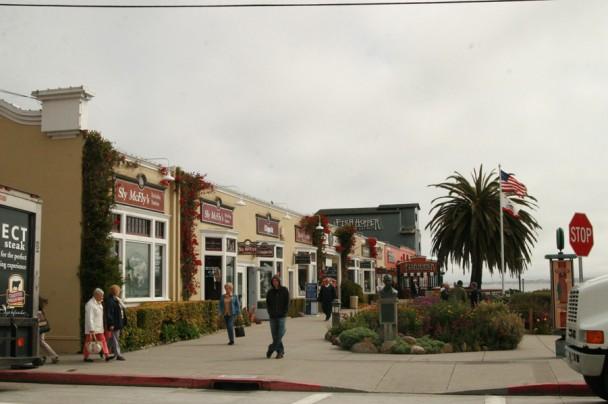 Lojinhas em Cannery Row