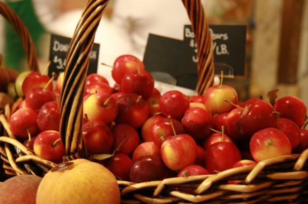 As frutas frescas