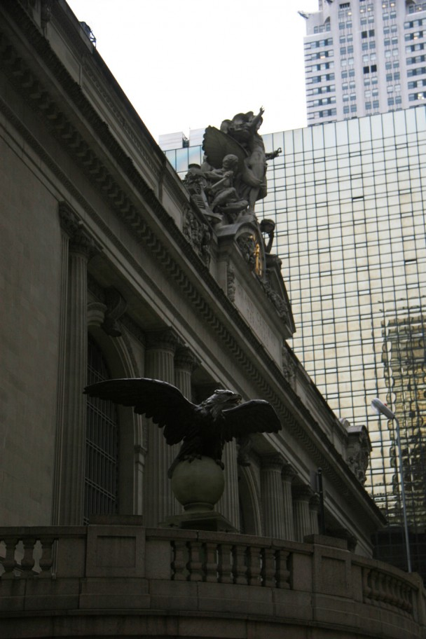 Esculturas da Grand Central Terminal
