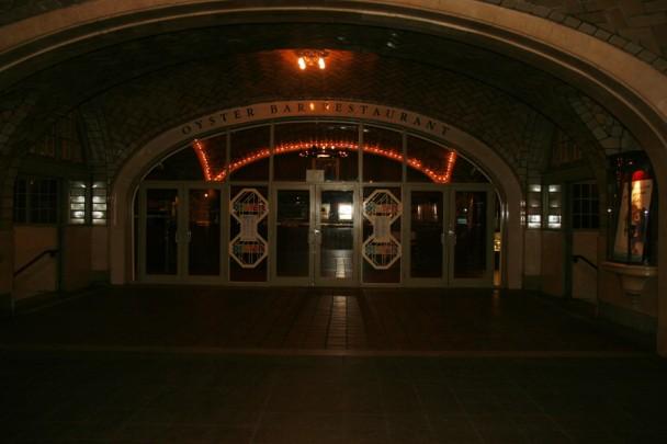 Entrada do Oyster Bar e Restaurante