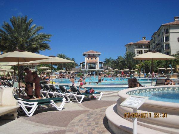 As piscinas