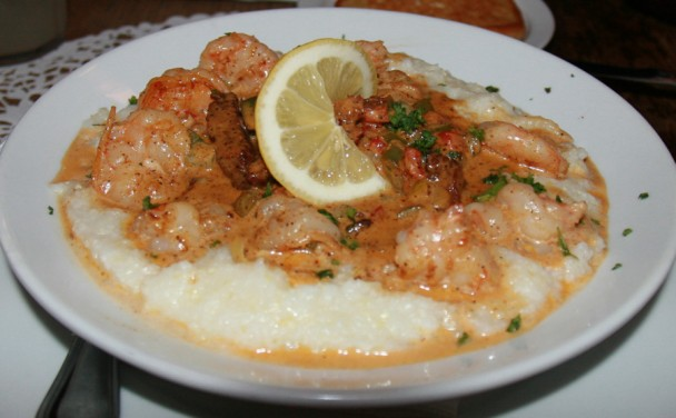 Shrimp e Grits