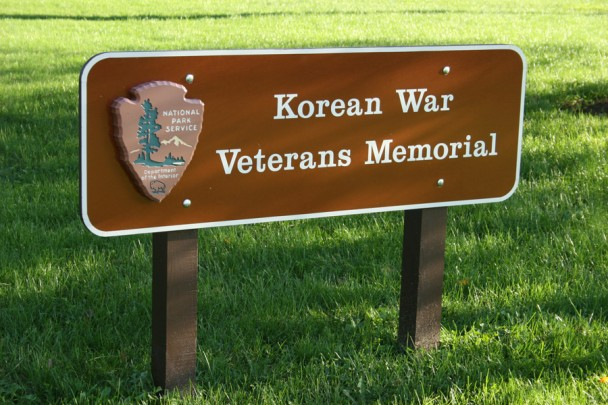 Placa Korean War