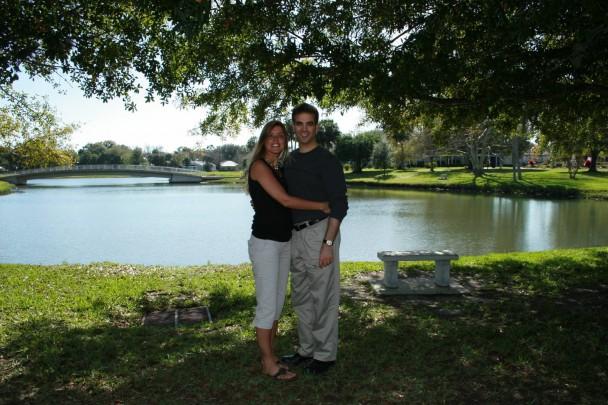 Lago em St Augustine