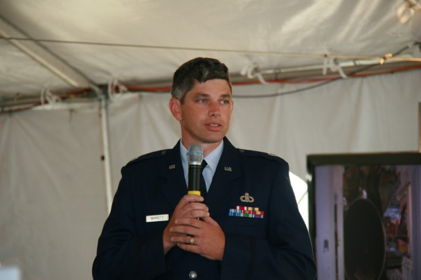 Lt. Col. Patrick Barrett, 45th Weather Squadron, U.S. Air Force