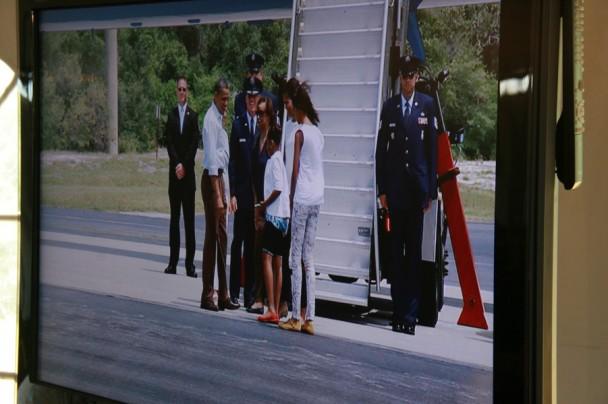 Obama chegando
