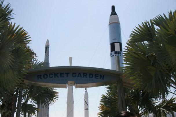 O Jardim dos foguetes