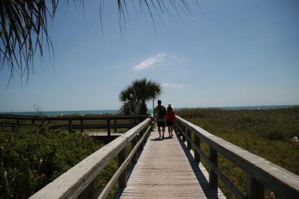 Entrada para a praia