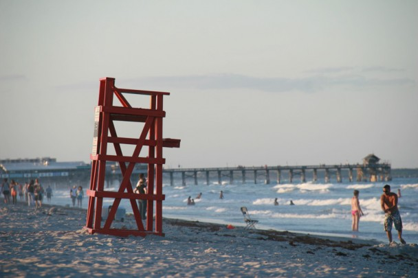 O Pier a distância