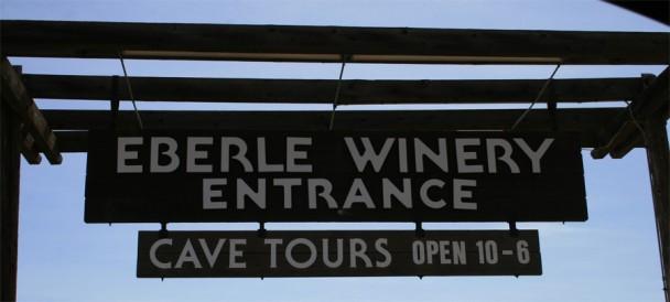 Entrada da Eberle Winery