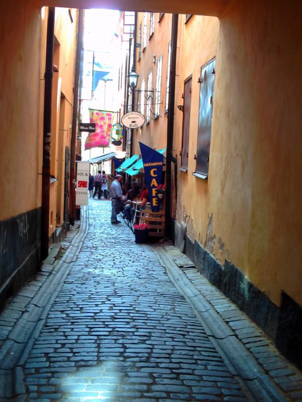 Uma rua da cidade velha