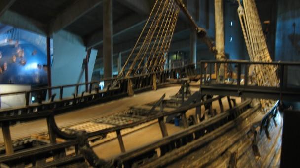 Detalhe do Navio Vasa