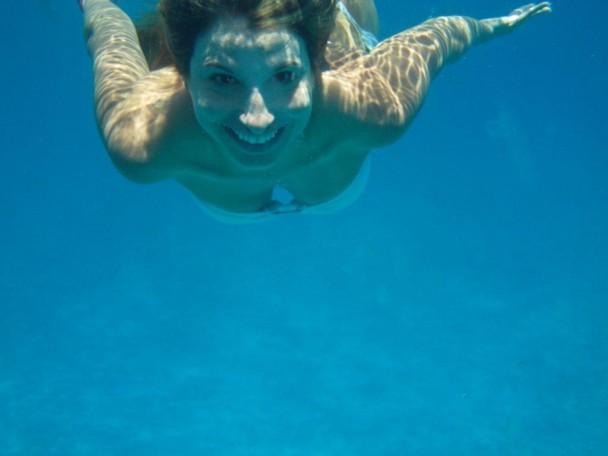 Mergulhando