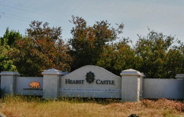 Entrada do Hearst Castle