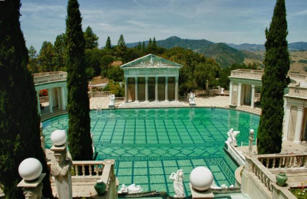 A piscina externa