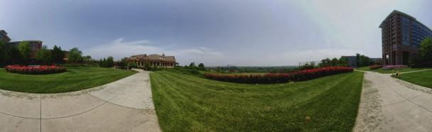 Panorama do exterior do Lansdowne Resort