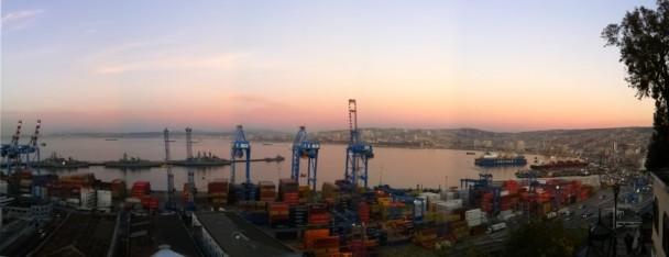 Porto em Valparaiso