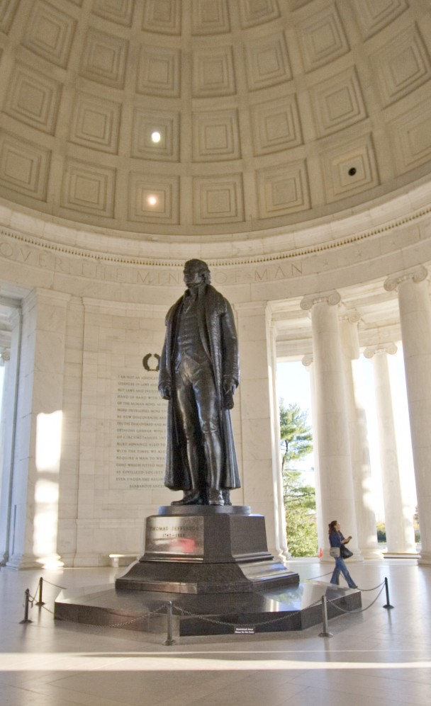 A Estatua do Jefferson