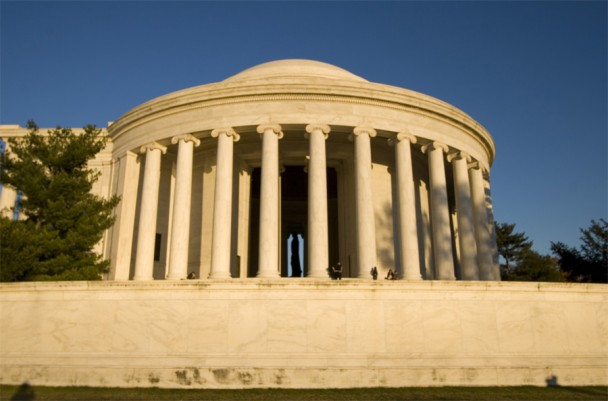 Jefferson Memorial de Lado