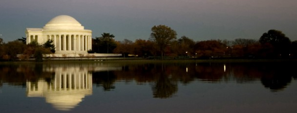 Jefferson Memorial from Tidal Basin