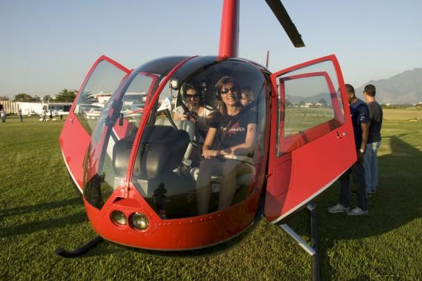 No helicoptero