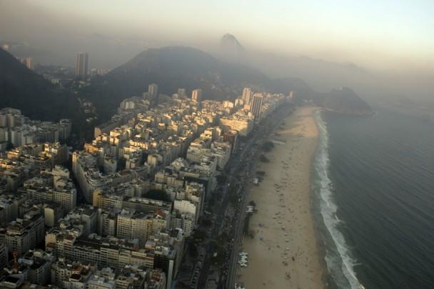 A orla de Copacabana