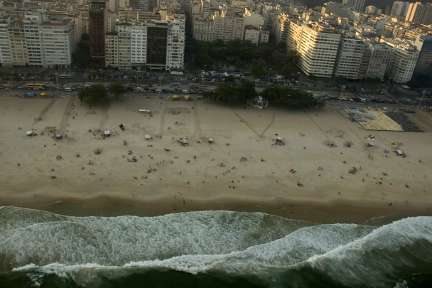 Copacabana de frente