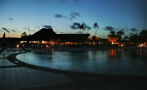 Por do sol no Club Med em Trancoso