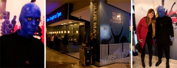 Blue Man em Vegas
