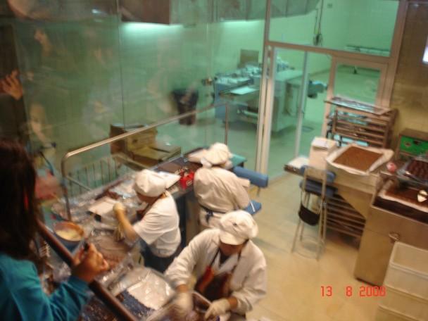 Visita guiada ao museu e fabrica de chocolates Fenoglio.