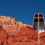As montanhas vermelhas de Sedona no Arizona