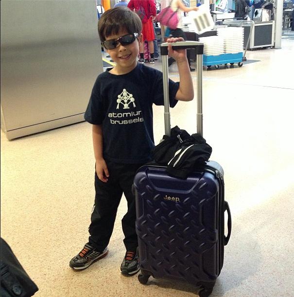Dylan viajando