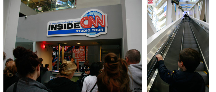Inside CNN Tour