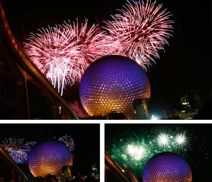Epcot Center Fogos