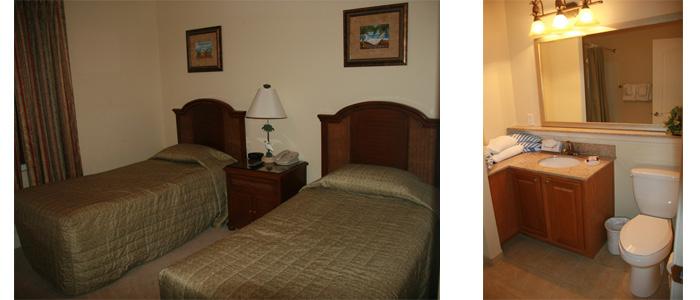 Hotel ou Apartamento em Orlando? Blue Heron Resort ~ Quarto Solteiro Com Banheiro