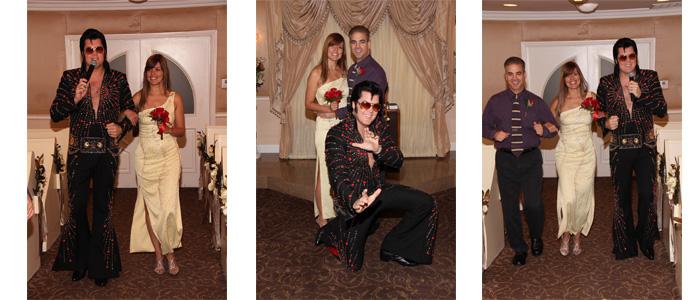 Entrando, Posando e Dançando com o Elvis
