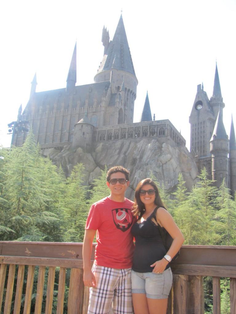 Castelo do Harry Potter no Islands of Adventure em Orlando