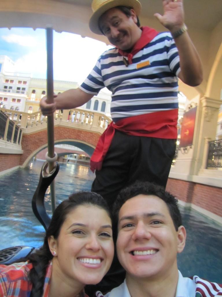 Gondola no The Venetian - Las Vegas
