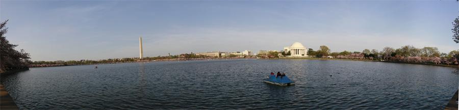 Panorama com os Monumentos