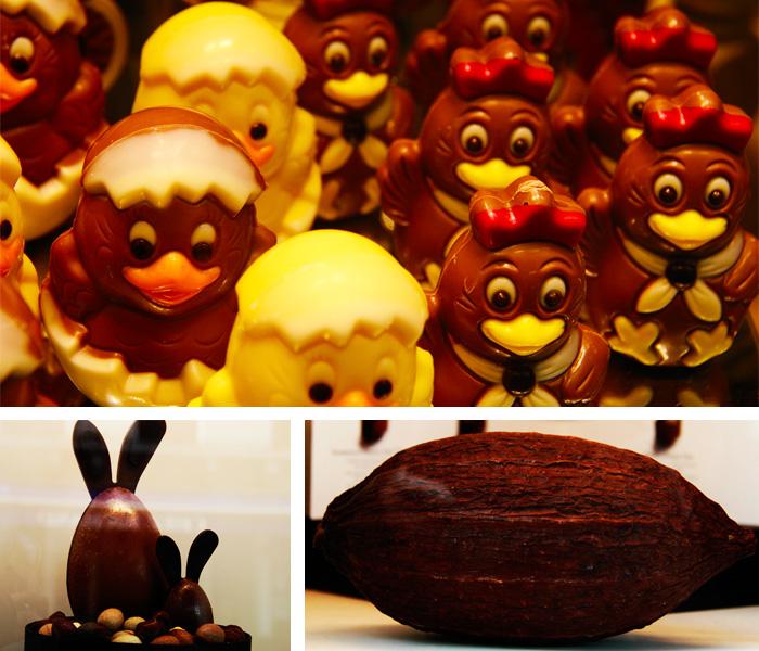 Chocolates especiais para a Pascoa