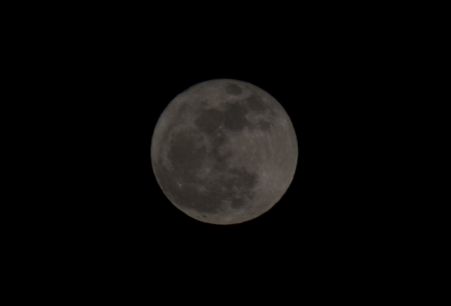 Close up da Lua Cheia