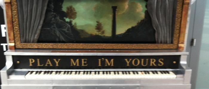 Street Piano Los Angeles