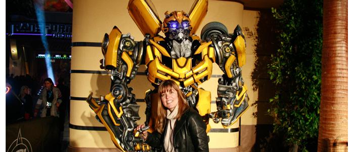 Eu e Bumblebee