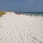 Na Flórida: curtindo a praia em Panama City Beach