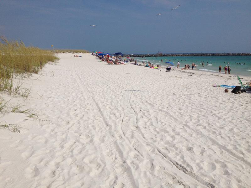 Curtindo A Praia Em Panama City Beach