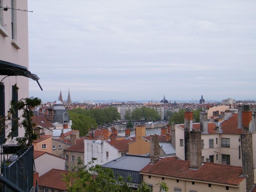 Lyon vista de Croix-Rousse