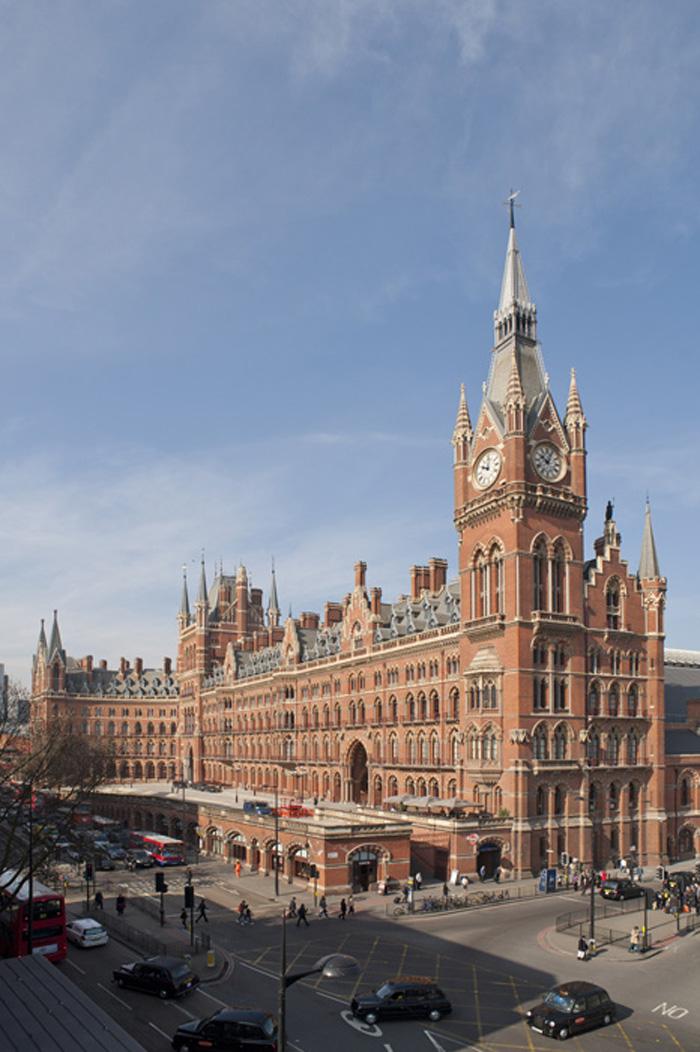 Londres hotel st pancras renaissance - Consigne saint pancras londres ...